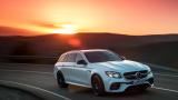 Mercedes показва супер мощно и бързо комби (Видео)