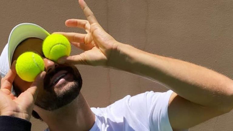 Григор Димитров: Благодаря ти! Тенис, липсваш ми!