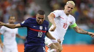 Франция - Швейцария 3:3, победителят ще се реши след дузпи