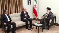 Ердоган се срещна с Али Хаменеи