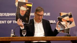 Вучич обвинява чуждо разузнаване за протестите в Белград