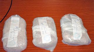 Задържаха три килограма хероин при Казанлък