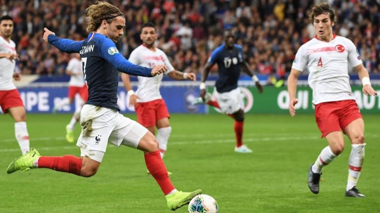 Франция и Турция завършиха наравно 1:1 в мач от група