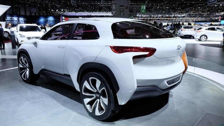 Hyundai вече тества конкурент на Nissan Juke