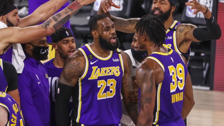 ЛА Лейкърс ще спори за титлата в НБА, Леброн Джеймс приключи серията с Денвър