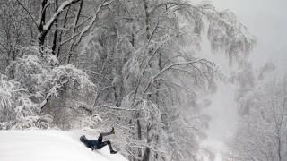 Рекорден снеговалеж падна в Москва