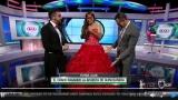 Не е за вярване - Стоичков се появи с червена рокля в ефир