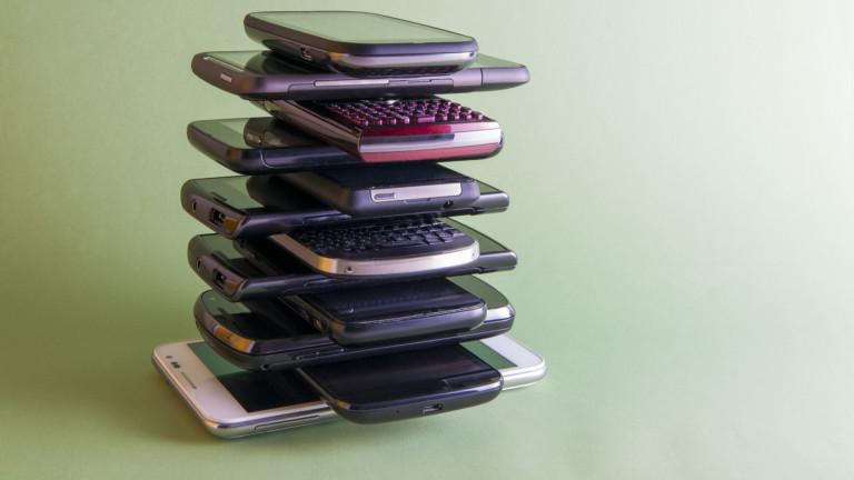 Какво да правим със старите си телефони