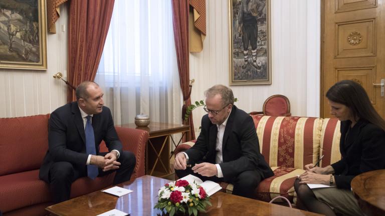 Президентът Румен Радев и генералният секретар на