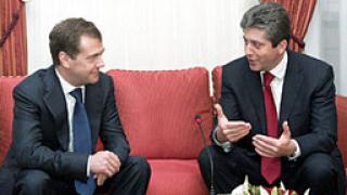 Първанов разговаря с Дмитрий Медведев