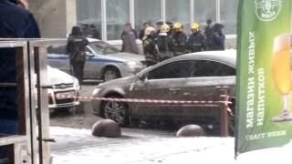 Тежко ранен при взрив пред библиотека в Санкт Петербург