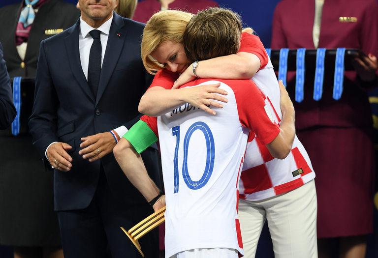 Лука Модрич получи поздравления от президента