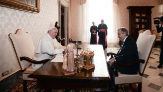Папата и Гутериш със съвместно изявление за мигрантите, климата и ядрените оръжия