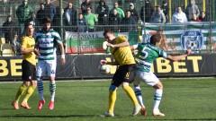 Ботев (Пловдив) - Черно море 0:0, предимство на гостите