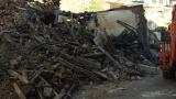 В центъра на Търново се срути сграда, паметник на културата