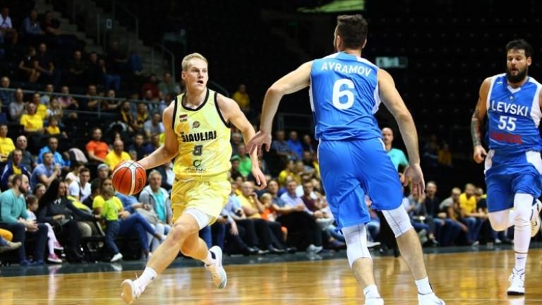 Българският шампион Левски Лукойлнаправи решителна крачка за класиране за втория