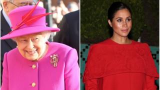 За какво кралицата похвали Меган Маркъл
