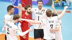 Белгия излъга Германия на Европейското първенство по волейбол
