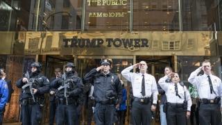 """Охраната на """"Тръмп тауър"""" струва на Ню Йорк 24 млн. долара"""