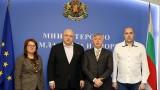 Министър Красен Кралев се срещна с италианския предприемач Паоло Бертана