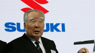 Осаму Сузуки, един от най-дългогодишните лидери в автоиндустрията, напуска Suzuki