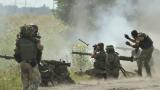 Контактната група със споразумение за изтегляне на оръжия в Донбас
