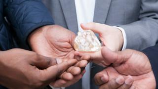 Държава продава огромен диамант в полза на бедните