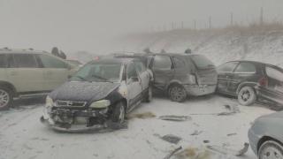 Изтеглиха струпалите се коли в района на Карнобат - Айтос