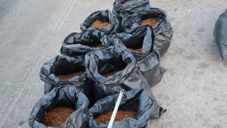 220 кг контрабанден тютюн иззеха във Видинско