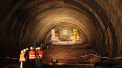 Строим най-дългия пътен тунел в Европа