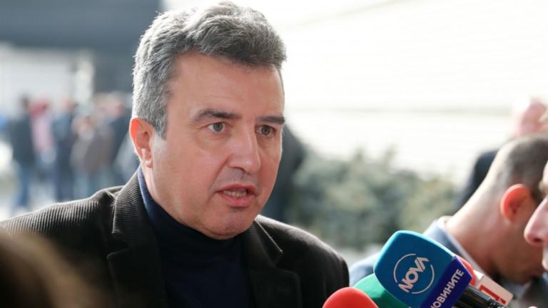 Един от кандидатите за президент на БФС - Ивайло Дражев,