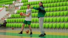 Кейси Бенсън направи първа тренировка с Балкан
