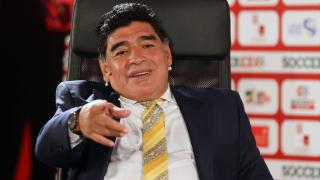 Диего Марадона пребил гаджето си на Св. Валентин
