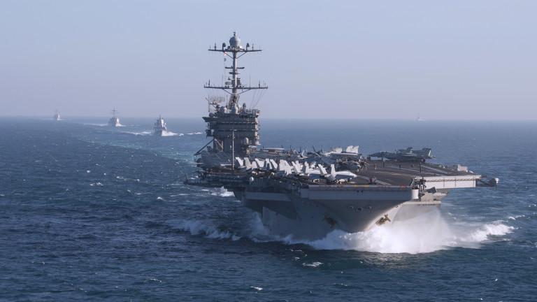 Снимка: САЩ не изключват изпращане на самолетоносач в Тайванския проток