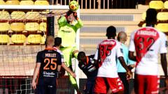 Монако и Монпелие не се победиха в мач от Лига 1