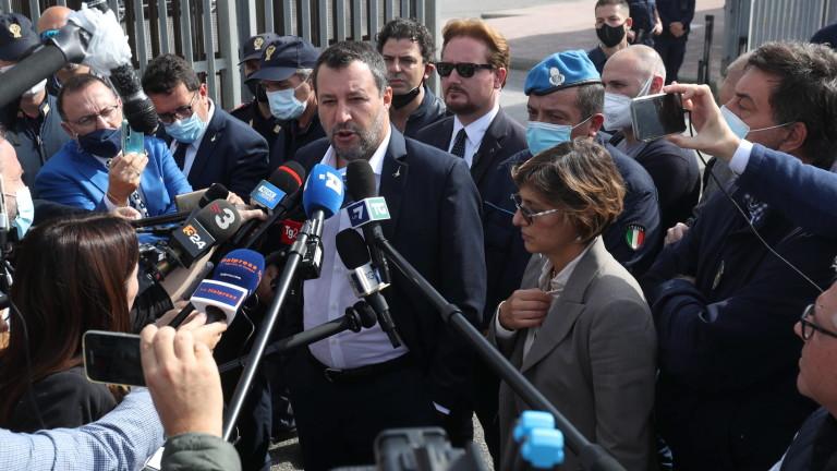 Матео Салвини, лидер на италианската крайнодясна партия
