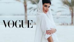 Излиза историческият първи брой на Vogue Arabia