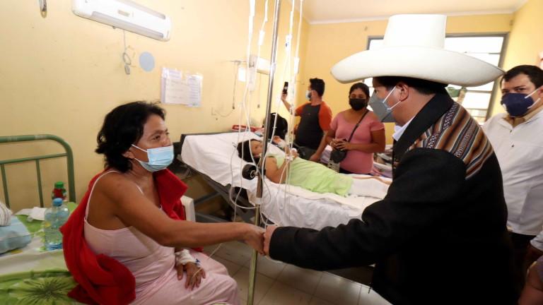 Ранени и разрушения след земетресението в Перу