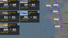 Коронавирус: Пет самолета на път за Испания обърнаха във въздуха и се върнаха в Британия
