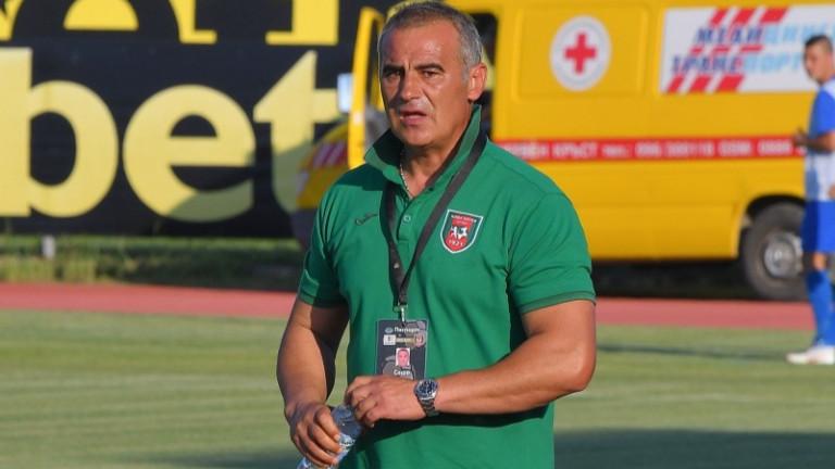 Треньорът на Ботев (Враца) - Сашо Ангелов, изрази задоволство от
