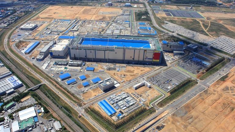 Samsung Electronics Co. е направила повече инвестиции през 2017 г.