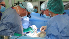 """Специалисти от ВМА и """"Пирогов"""" оперираха бебе с рядък рак на черния дроб"""