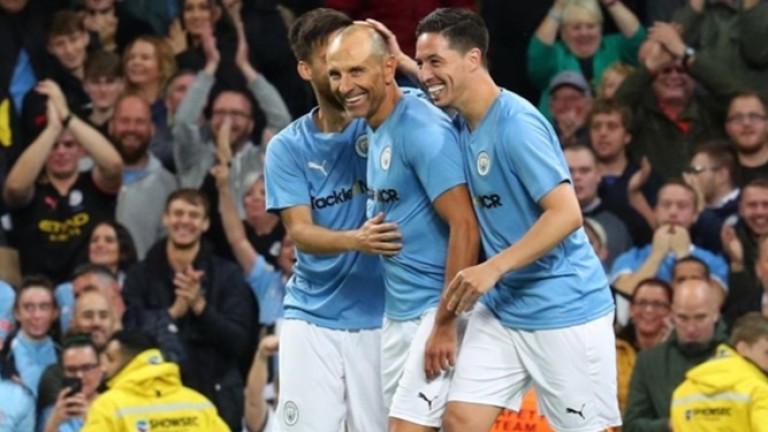 Марто Петров с гол за Сити в бенефиса на Компани