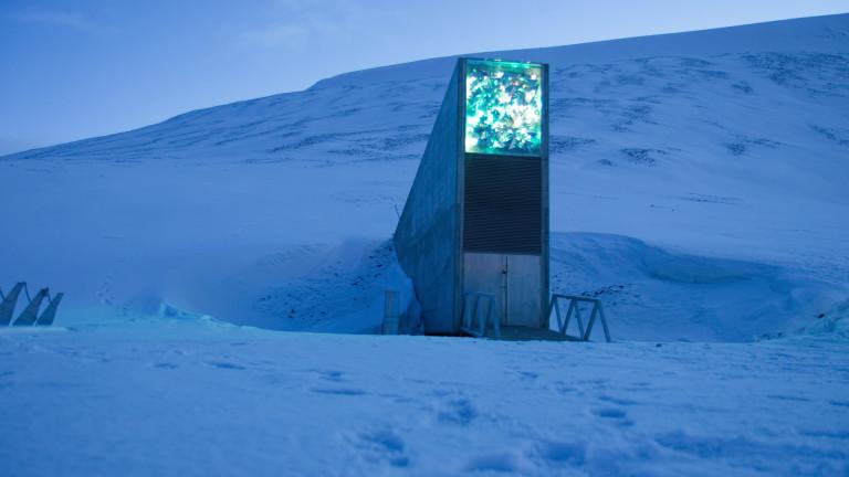 Норвегия обновява с $12,7 милиона своя трезор за семена