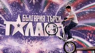 """Участник яде маси в """"България търси талант"""""""