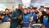 Тежка травма отлага дебюта на бившия нападател на Левски Жуниор Мапуку в Китай
