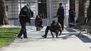Фандъкова отказа да приеме ремонта на градинката до Софийския университет