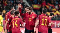 Испания победи Малта със 7:0 в европейска квалификация