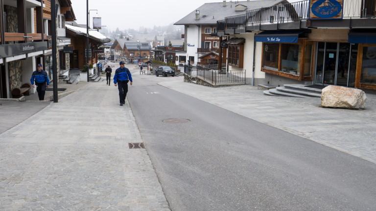 Швейцария вече има над 10 000 случая на заразени с