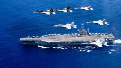 US самолетоносач навлезе в Персийския залив